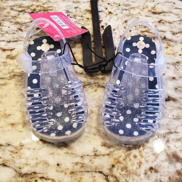 f7fb93e7a Garanimals Shoes | Clear Baby Girl Jelly Sandals | Poshmark